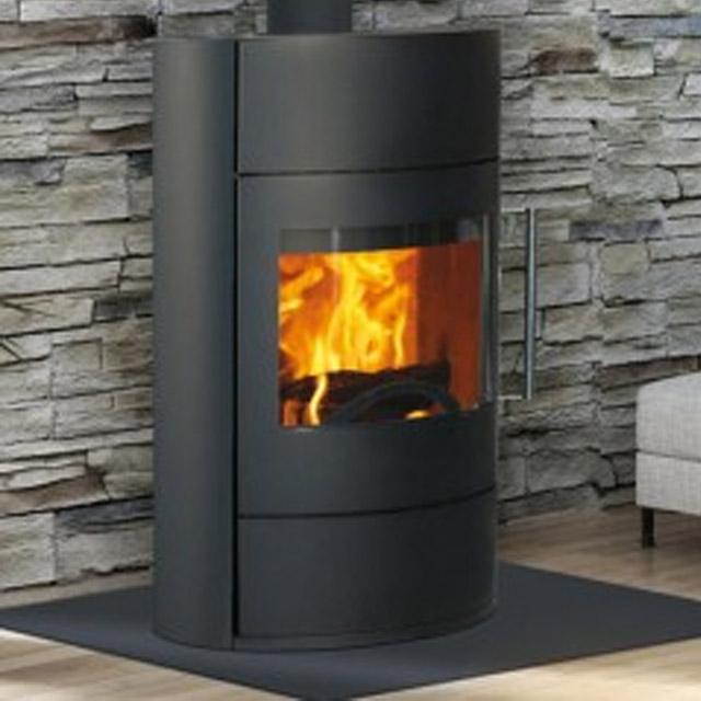 maison du feu poele et chemin e contemporaine dans le. Black Bedroom Furniture Sets. Home Design Ideas
